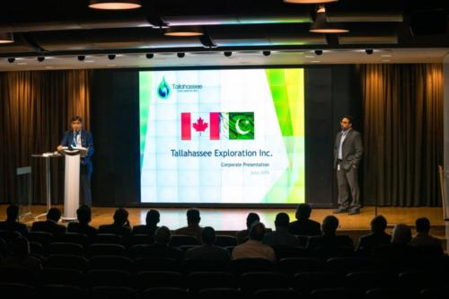 CEO/MD- Pakistan Petroleum Limited visit Tallahassee's HQ in Calgary.