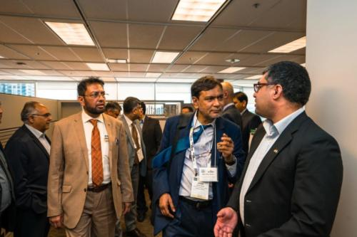 Canadian Consulate General - Pakistan Commercial Attache, Ministry of Petroleum- Director General Petroleum Concessions, Mari Gas, CEO- Pakistan Petroleum Ltd. visit to Tallahassee's HQ in Calgary.